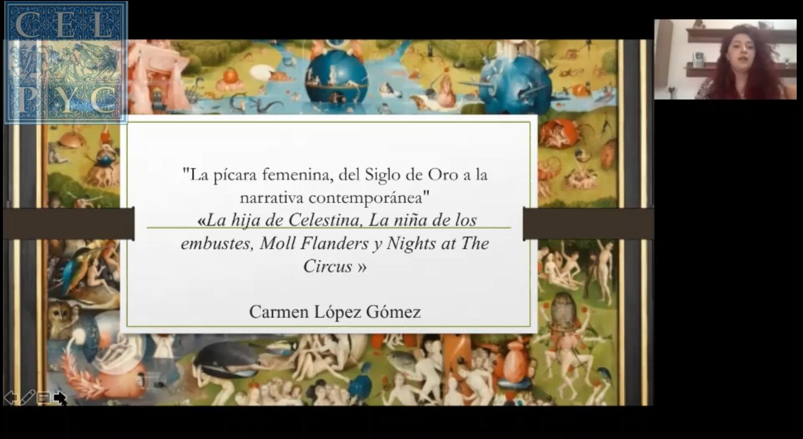 La pícara femenina, del Siglo de Oro a la narrativa contemporánea – María del Carmen LÓPEZ GÓMEZ