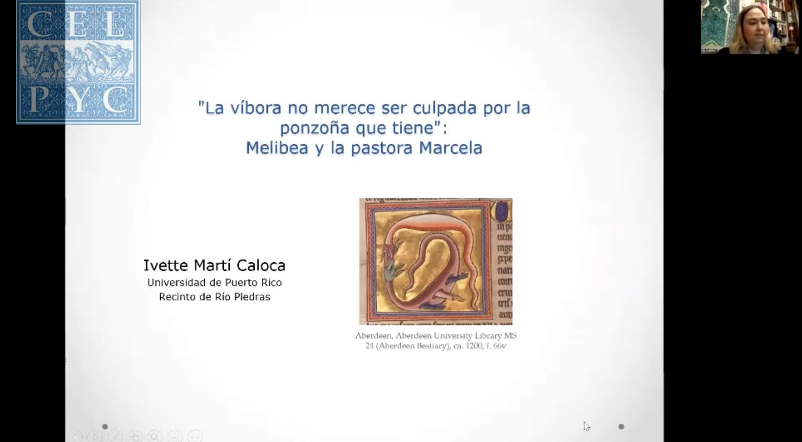 """""""La víbora no merece ser culpada por la ponzoña que tiene"""": Melibea y la pastora Marcela – Ivette MARTÍ CALOCA"""